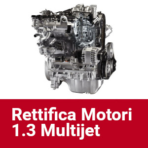 Rettifica Motori 1.3 Multijet